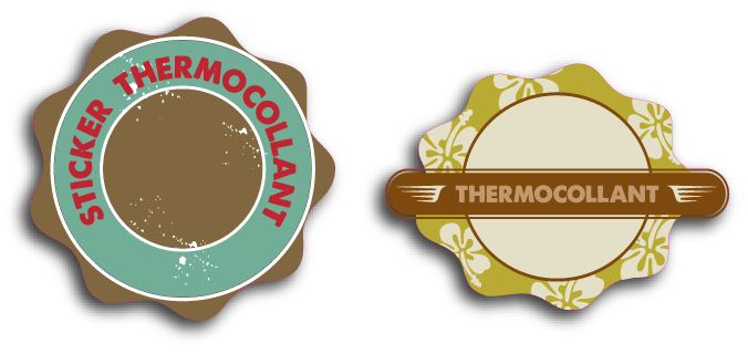 echantillon-THERMOCOLLANTS stickers